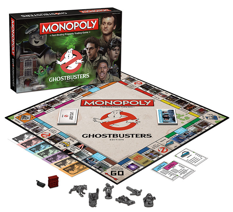 Photo Monopoly Ghostbusters