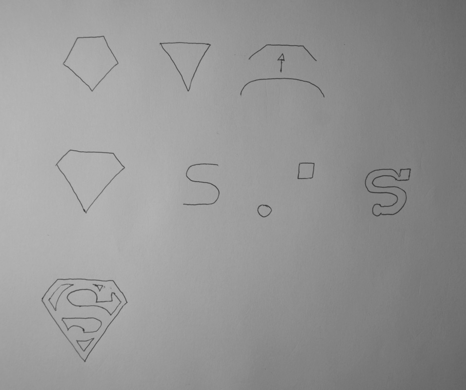 Narration symbolique superman logo